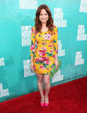 Ellie Kemper looked lovely in yellow.