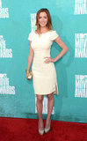 Eva Amurri wore white to the 2012 MTV Movie Awards.