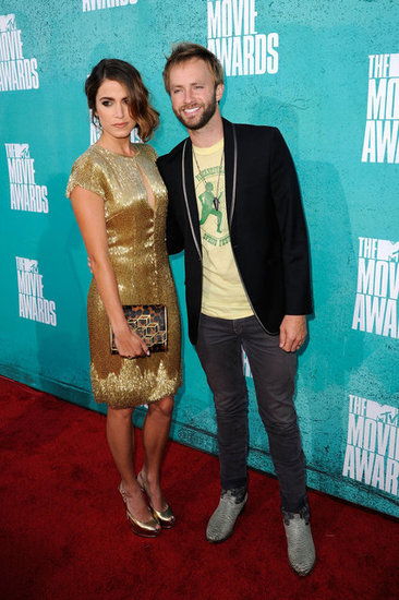 Nikki Reed and Paul McDonald Mark One Year Engaged at the MTV Movie Awards