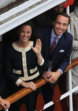 Pippa Middleton and brother James Middleton were all smiles.