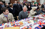 Prince Charles and Camilla sat down with Londoners as a part of the Big Jubilee Lunch street party.