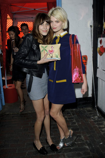 Alexa Chung and Pixie Geldof