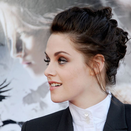Celebrities Wearing Braided Updos