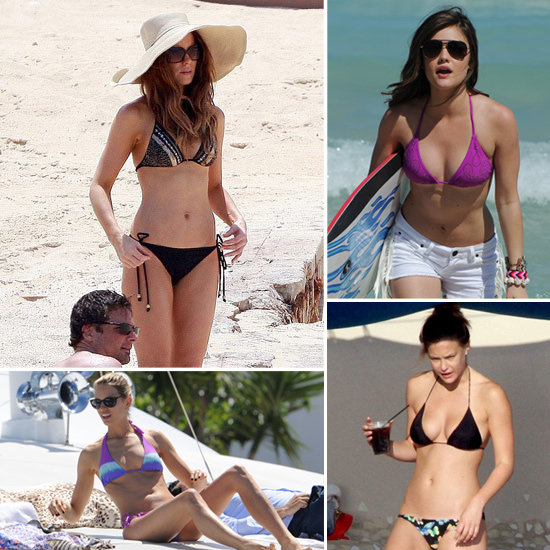 See and Shop the Top Celebrity Triangle Bikinis!