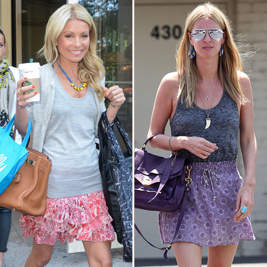 2 New Celebrity-Inspired Ways to Wear Your Printed Miniskirts