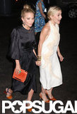 Mary-Kate Olsen and Ashley Olsen looked excited to arrive at the Fresh Air Fund's Spring Gala in NYC.