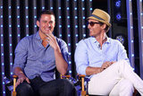 Channing Tatum and Matthew McConaughey were entertaining as ever as they sat in the hot seat to talk about Magic Mike.