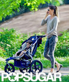 Gisele Bundchen pushed Ben in his stroller.