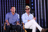 Channing Tatum and Matthew McConaughey couldn't hold back the laughter as they talked about stripping for Magic Mike.