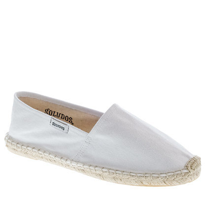 Everyone needs a classic pair of espadrilles for Summer.  Soludos For J.Crew Dali Espadrilles ($35)