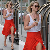This is one sexy look. Channel Ali Larter's effortless standout style.