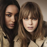 Burberry Beauty Autumn 2012 Campaign With Jourdan, Cara, Edie