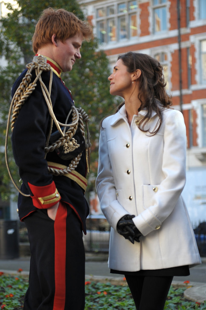 Prince Harry and Pippa Middleton impersonators tried to start a rumor that the real royal siblings to Will and Kate were dating. The photo shoot made us do a double take!
