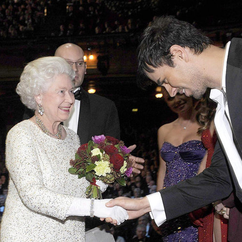 Queen Elizabeth II With Celebrities