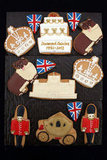 The Diamond Jubilee biscuits look too cute to eat!