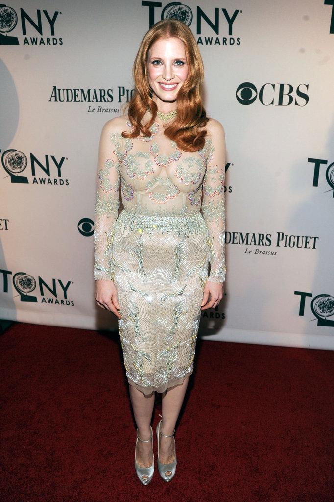 Andrew, Jessica, and More Hit the Tonys Red Carpet