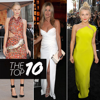 Top 10 Best Dressed Celebrities This Week Including Kate Bosworth, Jennifer Aniston, Emma Stone And More