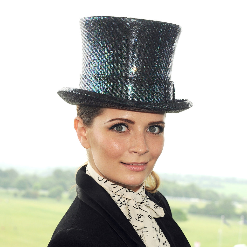 17. Mischa Barton's Sequined Top Hat