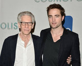 Director David Cronenberg and Robert Pattinson returned to Toronto for some press.