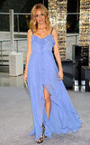 Heather Graham wore a pretty periwinkle Nicole Miller gown.