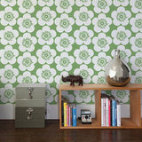 Aimee Wilder Pop Floral Leaf Wallpaper ($138/roll)