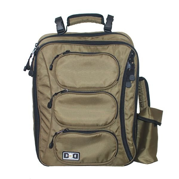 Diaper Dude Olive Convertible Bag