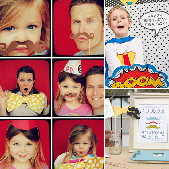 Photo Booth Fun For Your Lil Ones!