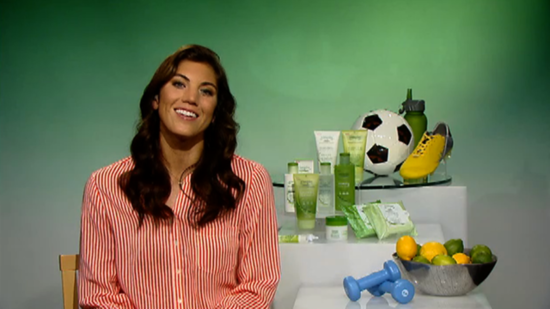 US Soccer Goalie Hope Solo Talks Training For the Summer Olympics!