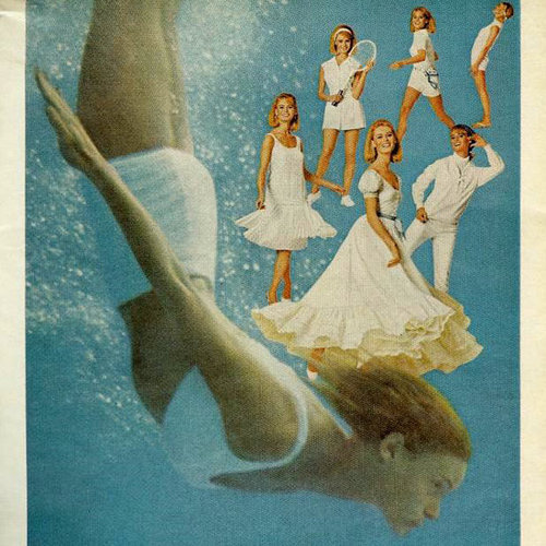 Vintage Tampon and Maxi Pad Advertising