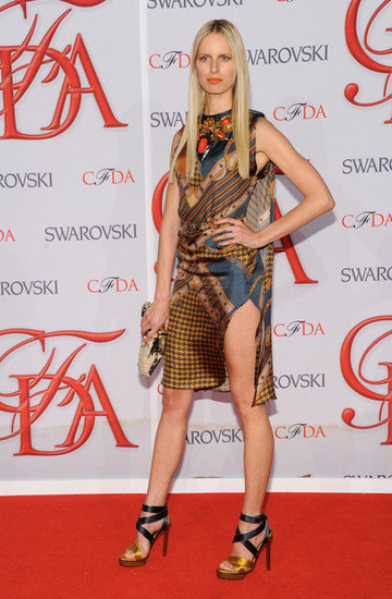 Karolina Kurkova(2012 CFDA Fashion Awards)