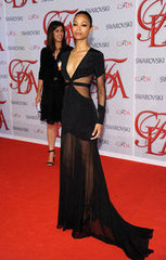 Zoe Saldana(2012 CFDA Fashion Awards)