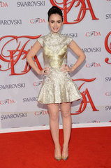 Lily Collins(2012 CFDA Fashion Awards)