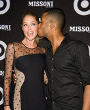 Doutzen Kroes (with husband DJ Sunnery James) wore Stella McCartney at the Missoni for Target launch in New York in September 2011.