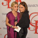 Mary-Kate and Ashley Olsen CFDA Winning Pictures