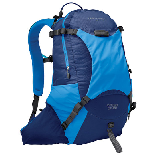 We're big fans of the Platypus lines of packs, and we're especially impressed by the Platypus Origin 32 Hydration Pack ($160). The reason? It carries a whopping three liters of water!