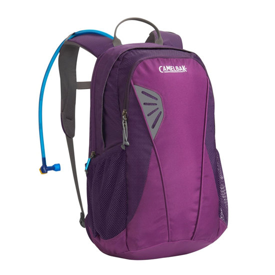 The tried-and-true CamelBak recently released this adorable 2012 Day Star ($80) perfect for a hike or day trip where you're going to be hanging outdoors. Total water capacity: two liters.