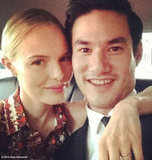 Date night! Kate Bosworth and Joseph Altuzarra go to the CFDAs together.