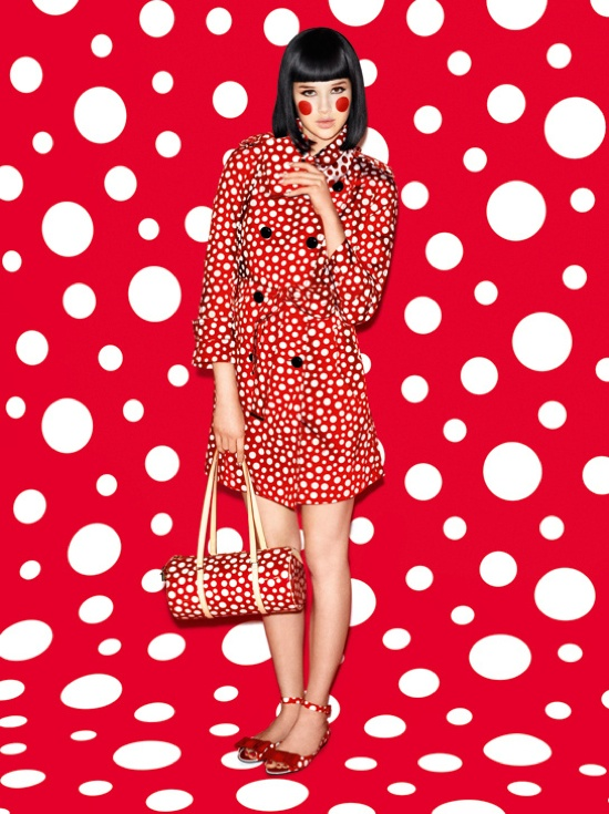 Yayoi Kusama for Louis Vuitton Summer 2012