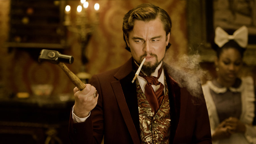 Most Anticipated Villain: Leonardo DiCaprio in Django Unchained