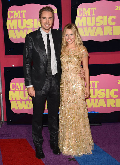 CMT Music Awards Host Kristen Bell Brings Dax Shepard to the Show