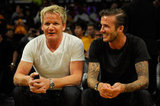 David Beckham and Gordon Ramsay's friendship goes beyond just guy time; their families are close and even spent Easter together in 2012.