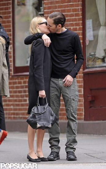 Kate Bosworth and Michael Polish Share a Sweet, Fashionable Kiss in NYC