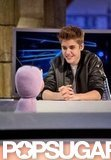 Justin Bieber chatted with a puppet on El Hormiguero.