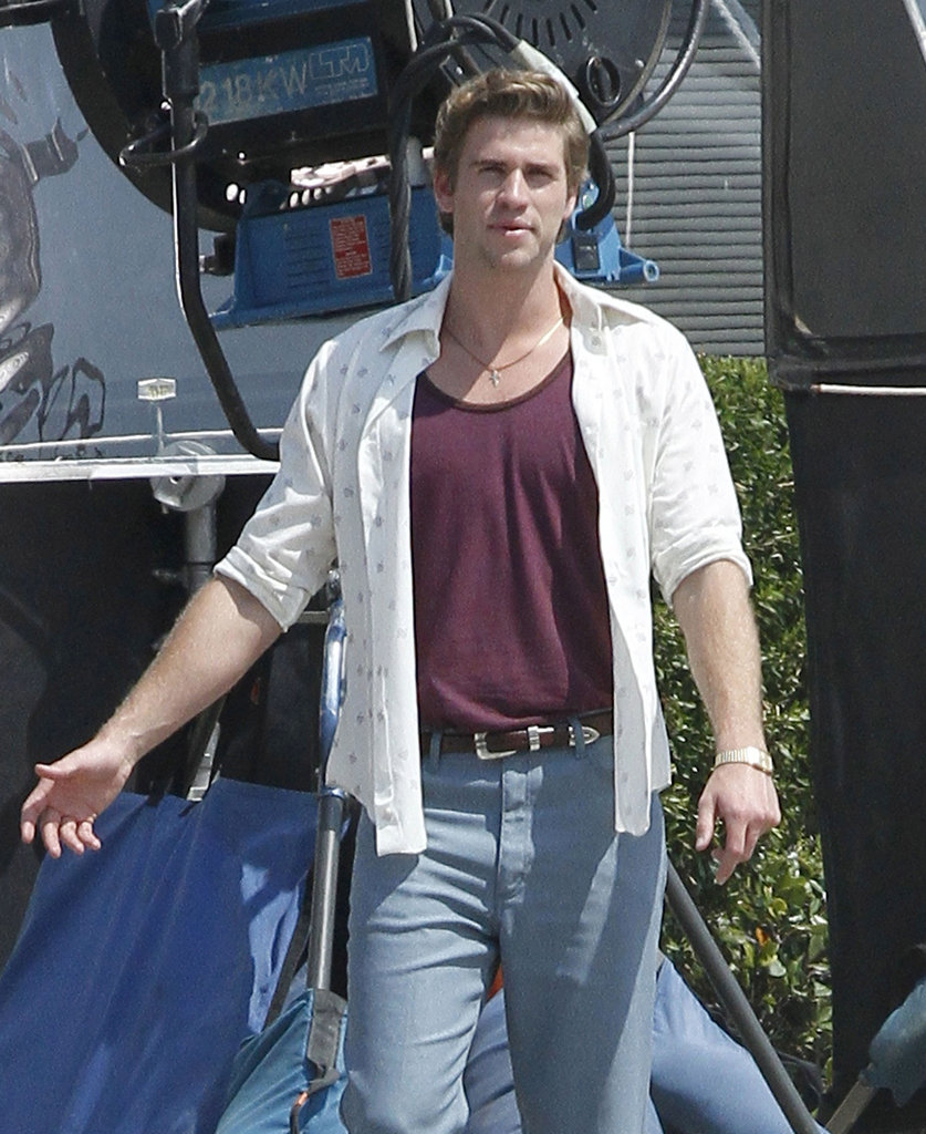 Liam Hemsworth filmed Empire State.