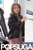 Kate Winslet was spotted on set in Boston.