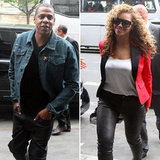 Beyoncé and Jay-Z Head Out For a Luxe Date in Paris