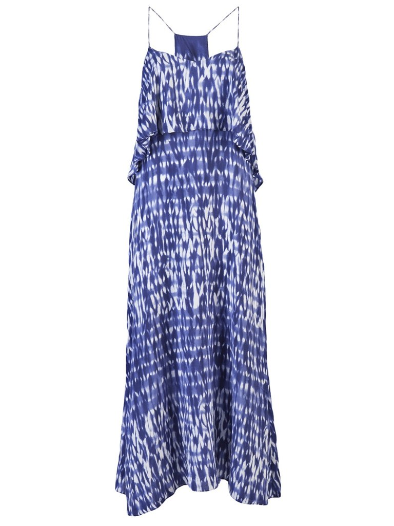 Breezy, bright, and perfect as a beach cover-up or a date-night dress. Thakoon Addition Cami Tank Gown ($290)