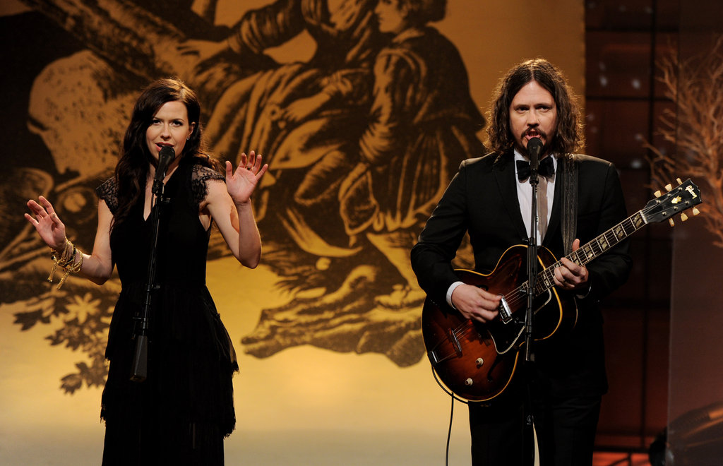 The Civil Wars performed on the Tonight Show With Jay Leno in February.