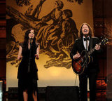 Joy and John Paul performed on the Tonight Show With Jay Leno in February.
