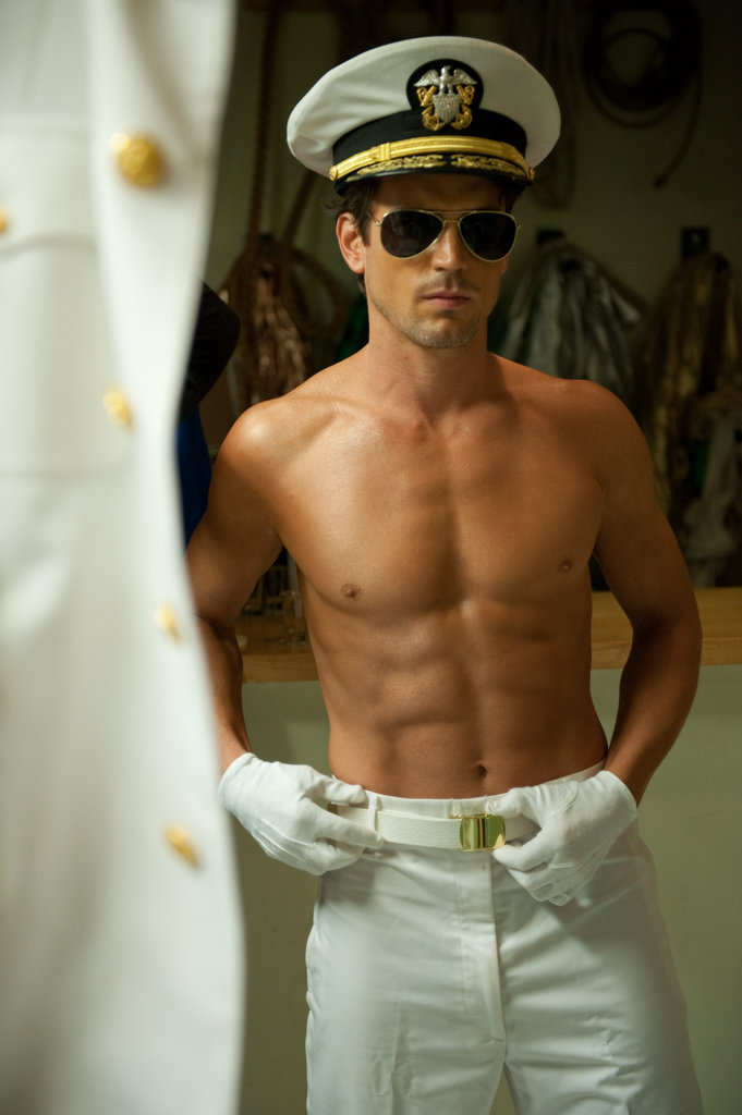 Matt Bomer stripped down for his role in Magic Mike. Photos courtesy of Warner Bros.
